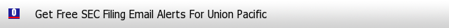 Union Pacific SEC Filings Email Alerts image
